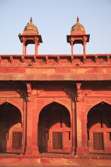 Inner courtyard of Jama Masjid, Fatehpur Sikri, UNESCO World Heritage Site