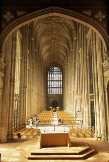 Interior, Canterbury Cathedral, UNESCO World Heritage Site, Kent, England