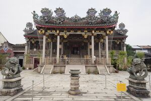 Khoo Kongsi clan house and temple, Georgetown, Penang, Malaysia, Southeast Asia, Asia