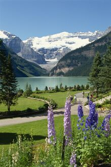 Lake Louise, Banff National Park, UNESCO World Heritage Site, Rocky Mountains