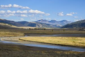 Lamar Valley, Yellowstone National Park, UNESCO World Heritage Site, Wyoming, United