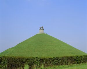 Lion Hill, site of the Battle of Waterloo, Belgium