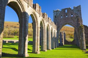 Llanthony Priory, Brecon Beacons, Wales, United Kingdom, Europe