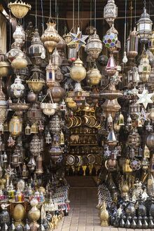 metal lanterns old souk old medina marrakesh