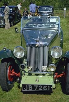 MG NB from 1934, England, United Kingdom, Europe