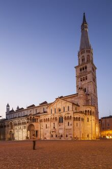 Cathedral, Torre Civica and Piazza Grande, Modena (Selection of 19 Items)