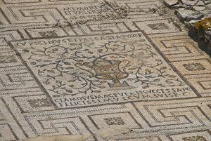 Mosaics in the 6th century Euphrasian Basilica, UNESCO World Heritage Site