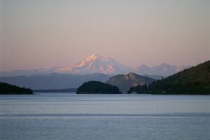 Mount Baker from San Juan Islands