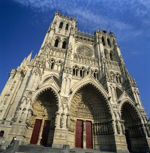 Notre Dame Cathedral, UNESCO World Heritage Site, Amiens, Picardy, France, Europe