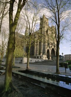 Notre Dame, Christian cathedral, Amiens, Picardy, France, Europe