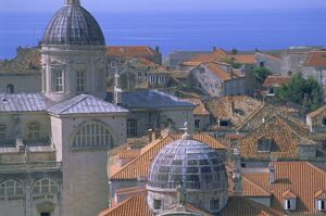Old city, Dubrovnik, UNESCO World Heritage Site, Dalmatia, Dalmatian coast