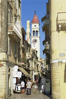 Old Town, Corfu Town, Corfu, Ionian Islands, Greek Islands, Greece, Europe