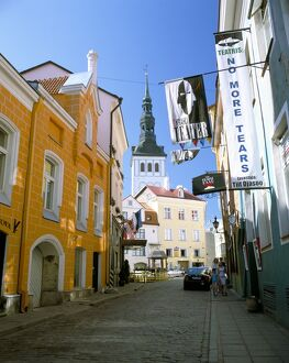 Old Town, UNESCO World Heritage Site, Tallinn, Estonia, Baltic States, Europe