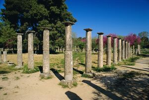 Olympia, birthplace of the Olympic games in 776 BC