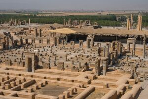 overview persepolis tomb artaxerxes iii palace