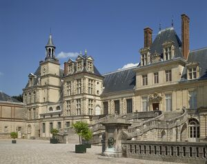 The Palace at Fontainebleau, UNESCO World Heritage Site, Seine-et-Marne