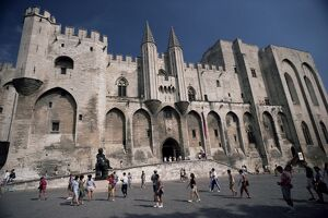 Palais des Papes, Avignon, UNESCO World Heritage Site, Vaucluse, Provence, France, Europe