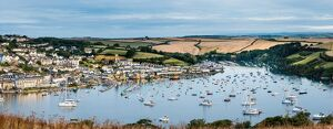 panoramic view salcombe east portlemouth east