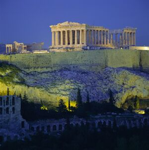 The Parthenon and Acropolis