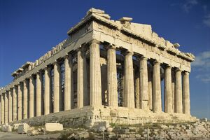 The Parthenon, The Acropolis, UNESCO World Heritage Site, Athens, Greece, Europe
