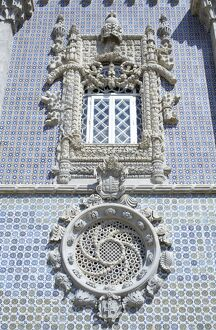 Detail of Pena National Palace