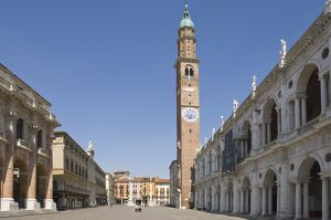 The Piazza dei Signori and the 16th century Basilica Palladiana, Vicenza