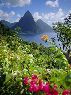 The Pitons, St