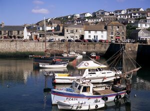 Porthleven harbour, Cornwall, England, United Kingdom, Europe