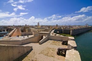 The Portuguese fortified city of Mazagan now called El Jadida, UNESCO World Heritage Site