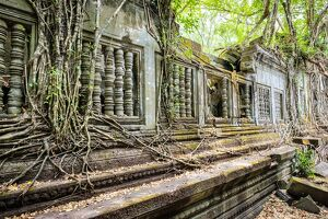 Prasat Beng Mealea temple ruins, Siem Reap Province, Cambodia, Indochina, Southeast Asia