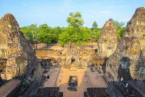 Pre Rup (Prae Roup) temple ruins, Angkor Archaeological Park, UNESCO World Heritage Site