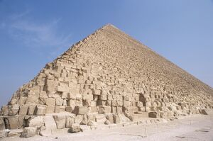 Pyramid of Cheops, Giza, UNESCO World Heritage Site, near Cairo, Egypt