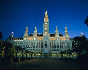 Rathaus (Town Hall), Vienna, Austria, Europe