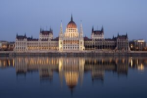 River Danube and Parliament building