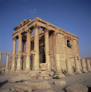 Roman temple of Baal-Shamine