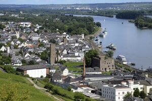 Rudesheim, Rhine Valley, Hesse, Germany, Europe