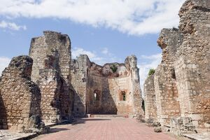 Ruins of Monasterio de San Francisco, UNESCO World Heritage Site, Santo Domingo