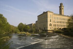 Salts Mill, UNESCO World Heritage Site, Saltaire, near Bradford, Yorkshire