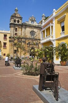 San Pedro Claver Church, Old Walled City District, Cartagena City, Bolivar State