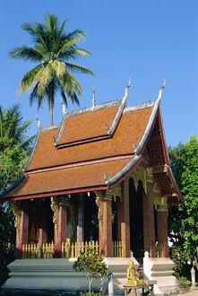 The Sensoukharam Temple in Luang Prabang
