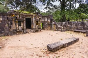 Shiva Devale No 1, ruins of a Hindu Temple, Polonnaruwa, UNESCO World Heritage Site, Sri Lanka, Asia
