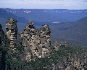 Three Sisters, Blue Mountains, UNESCO World Heritage Site, New South Wales