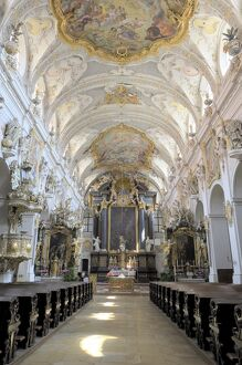 St. Emmeram's church, Regensburg, Bavaria, Germany, Europe