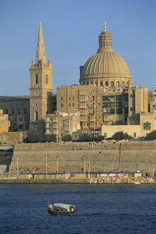 St. Pauls Church in Valletta on the island of Malta