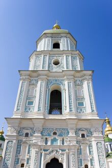St. Sophia Cathedral, UNESCO World Heritage Site, Kiev, Ukraine, Europe