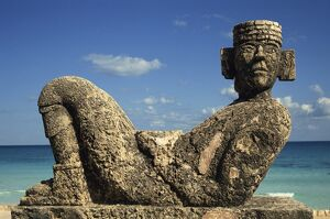 Statue of Chac-Mool