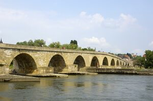 Stone Bridge (Steinerne Brucke), Regensburg, UNESCO World Heritage Site