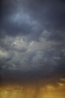 Storm clouds and sunshine, Kansas, United States of America, North America