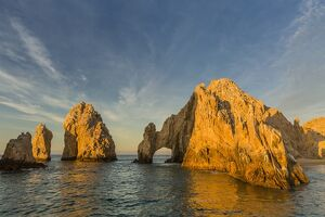 sunrise lands end cabo san lucas baja california