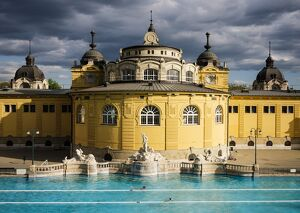 Szechenyi Thermal Baths, Budapest, Hungary, Europe